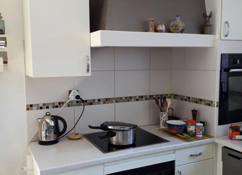 Changement façade cuisine à Lentilly