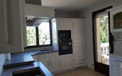 Relooking cuisine ancienne à Genas